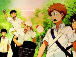 Friends Only Oofuri by FMA-Neko-San