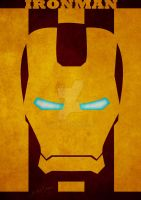 Poster Iron Man by GTR26