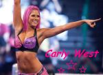 Carly West Wallpaper by LaceyLaLa