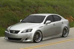 Lexus IS 350 by AladineSalame