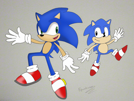 Sonic Generations by xRubiMalonex