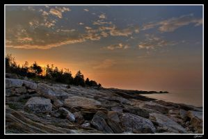 Maine Coast Sunrise by EvaMcDermott