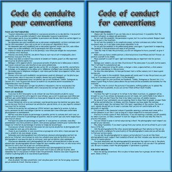 Code de conduite / Code of conduct by MrJechgo