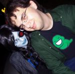 Vriska and John by BellaMorteCosplay