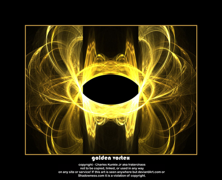 golden vortex by fraterchaos