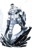 Captain America by alessandromicelli