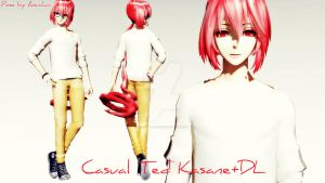 TDA Casual Ted Kasane+DL! by K-I-R-U-S-H-U