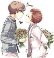Kyumin  Bouquet love by Fuko-chan