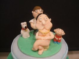 Family guy cake, photo 1 by 0970jackie