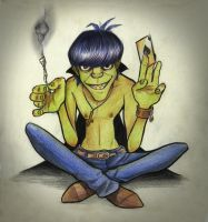 Murdoc by Beyond-your-soul