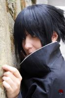 Uchiha Sasuke - I'm not cute by Dark-Uke