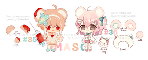 MS: collab auction #35-36 [CLOSED] by Polka-Pot