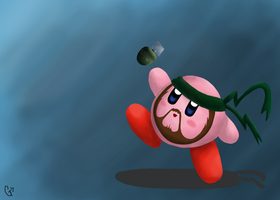 Snake Kirby by Shirosayuri