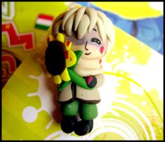 APH Russia and Sunflower Charm by colormedisturbed