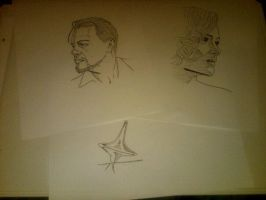 Inception sketches by StevenWilcox