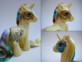 My Little Pony Custom Sonata by eponyart