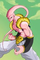 Majin Buu (Gotenks absorbed) by ToussiDesigner