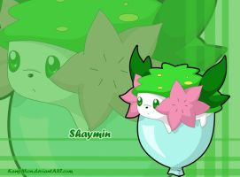 Shaymin wallpaper by KanyMon
