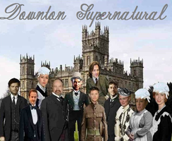 Downton Supernatural by misstudorwoman