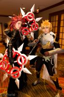 Axel and Ventus by Aether-Shadow