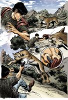 Cougar attack by RichYan33