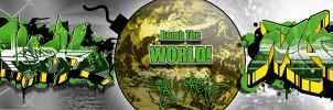 Marz Cypher - Bomb The World by marzgfx