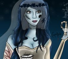 The Corpse Bride by BlackD0ve