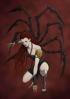 Revenge of the Pantheons : Arachne by doubleleaf