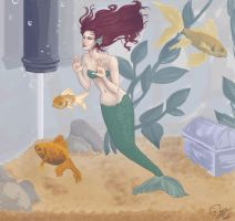 my pet mermaid by jtine
