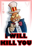 I will kill you by SLB-CreationS