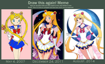 Draw This Again: Sailor Moon by ItsMikuru