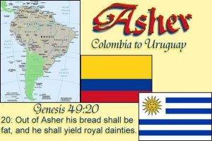 Tribe of Asher so called Columbians,brazilians etc by 12TribesOfIsrael