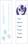 Bookmark - One-name w/ Quotes version by Dynasty-Dawn