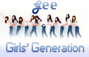Girls' Generation (SNSD) Gee Album Cover Edit by CharmedAwesome