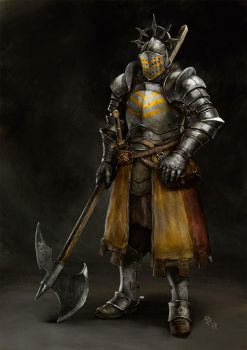 Knight Concept Art by engelszorn