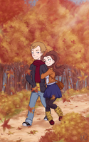Autumn Stroll by Nadily