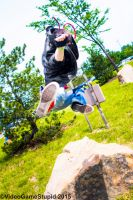 ColossalCon 2015 - Kung Fury(PS) 04 by VideoGameStupid