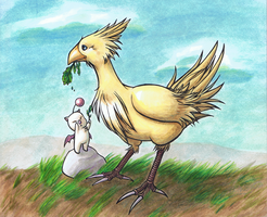 Chocobo Taming 2 by MorphineRx