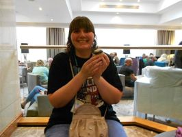 Auto Assembly 2015 - Me With A Roddy Cupcake! by HealerCharm