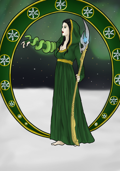 Lady Loki - Art Nouveau by ponypalsandhorsies