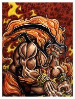 The Ifrit by JRtheMonsterboy