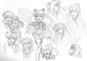 Sailor Senshi by Moon-Shyne