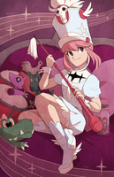 Nonon Jakuzure by StrawberryQuincy
