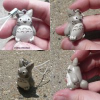 Totoro Charm by ChibiSilverWings