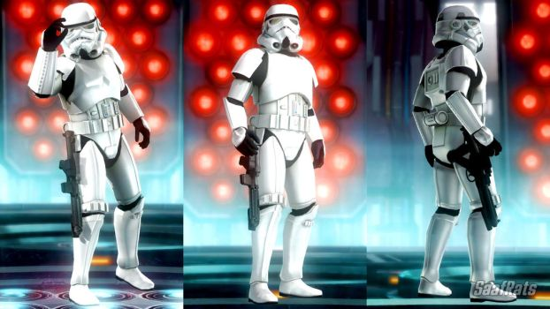 Stormtrooper soldier in DOA5LR (WIP) by SaafRats