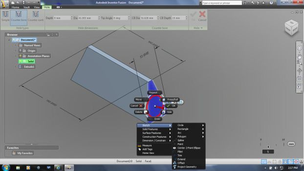 Autodesk Inventor first hand by decepticons