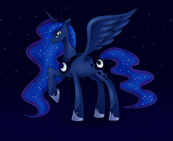 Princess Luna by Manhunterj
