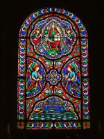 Edlingham Church Window by neonwilderness
