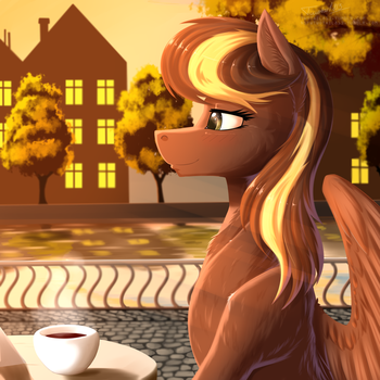 Evening tea by Twotail813