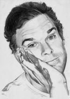 Dexter Morgan ( Michael C. Hall ) by BORJICH